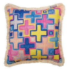 Crosses Cushion 45x45cm