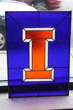 University of Illinois Stained Glass by DDPaperStitch on Etsy, I want, I want, I wannnnt!