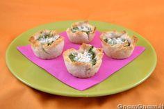 Scopri la ricetta di: Cestini di pan bauletto