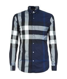 View the Exploded Check Cotton Shirt