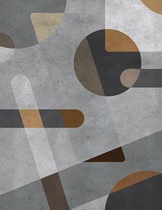 Graphic design inspired by photographs of Architecture Conjugation of light / shadow games and perspectives with reliefs Colors in shades of brown with reference in the furniture, great part in wood, produced in Century Mid Century. Carpet Design, Floor Design, Tile Design, Carpet Flooring, Rugs On Carpet, Bauhaus, Lobby Interior, Fabric Rug, Office Lobby