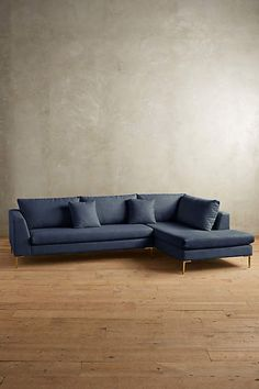 L shaped sofa from anthropologie