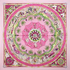 luxury-scarves.com 'Per Astra ad Astra', Sandra Laroche. 2009