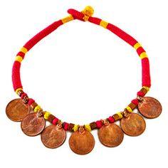 RUPEE NECKLACE #merchantsociety #oneofakind #rupeenecklace