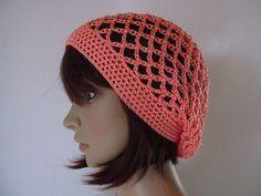 Crochet Hats, Style, Fashion, Fashion Styles, Salmon, Arts And Crafts, Knitting And Crocheting, Threading, Patterns