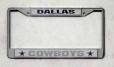 Dallas Cowboys Chrome License Plate Frame Z157-9474639528