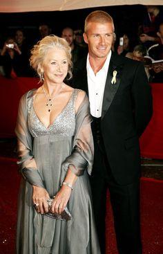 Pin for Later: Ces Célébrités Sont Tout Aussi Fans de David Beckham Que Nous Helen Mirren