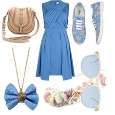 """Summer 2013- Cornflower"" by fightsoftly on Polyvore"