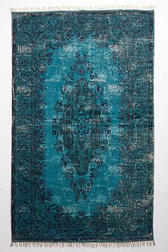 Overdyed Ziya Rug  #anthrofave #juvenilehalldesign