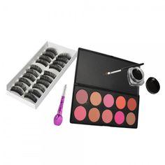 Blush Palette  Makeup  Eyelashes   Home Goods Galore