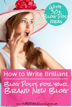 How to write blog posts that engage and convert your readers that you can share again and again. Plus grab a list of 30+ evergreen blog post ideas for your Brand New Blog