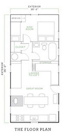 Jessica Helgerson's tiny house