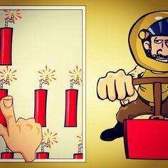 #StopTheTerrorist addictive iOS app