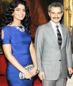 Princess Ameerah & Prince Al Waleed bin Talal al Saud of Saudi Arabia