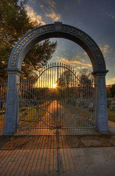 Confederate Cemetery, Fredericksburg, Virginia