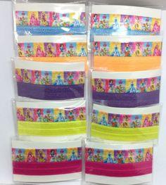 Disney Princess Palace Pets Fold Over Elastic Hair Tie Party Favors 20 pcs. #Disney #BirthdayChild
