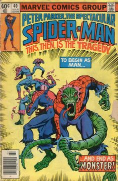 Peter Parker The Spectacular Spider-Man #40 - 1980
