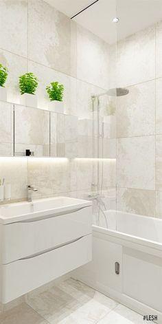 Фен-шуй в дизайне ванной | Студия LESH (фен-шуй, дизайн интерьера, ванная комната, современная ванная, светлый дизайн, керамогранит)