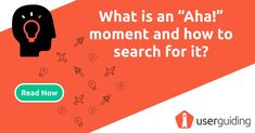 """The """"Aha!"""" moment is a relatively new term in user experience. To understand it thoroughly, we first need to learn how our emotions affect our behaviors and decision-making. Because our emotions are the driving force behind most of our behaviors and decisions.  Read our blog post to learn more about the magical """"Aha!"""" moments.   #userexperience #ux #uxdesign #design #ahamoments"""