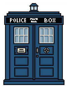 (10) Name: 'Embroidery : Doctor Who: TARDIS