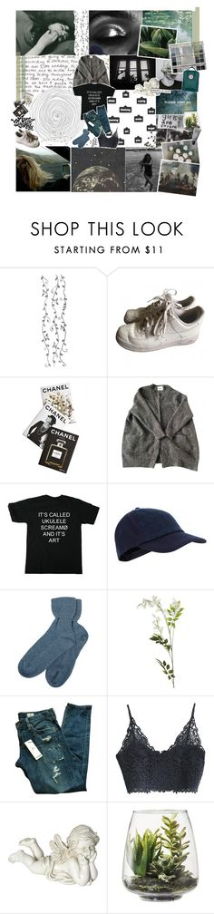 """tell me something that i'll forget"" by neptnue ❤ liked on Polyvore featuring NIKE, Assouline Publishing, Accessorize, Brora, OKA, AG Adriano Goldschmied, Pacific Coast, Threshold, MAKE UP FOR EVER and kikitags"