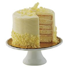 Sensational White With French Buttercream Cake HEB Cake $16.75