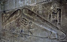 Temple of Dendera - if you look at the relief it looks like giant light bulbs.