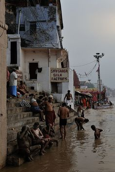 Bath in the holy waters of the Ganges