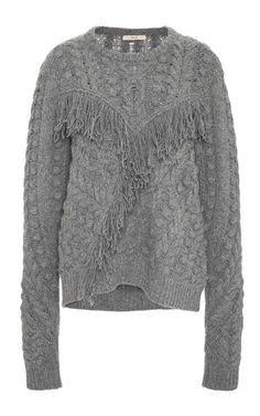 Cable Knit Pullover by Rhie for Preorder on Moda Operandi