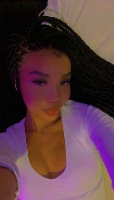 Baddie Hairstyles, Black Girls Hairstyles, Cute Hairstyles, Pretty People, Beautiful People, Black Brown Hair, Light Skin Girls, Protective Hairstyles, Protective Styles