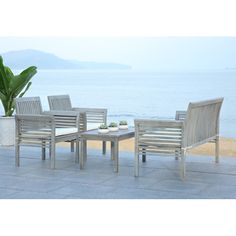 Found it at AllModern - Tice 4 Piece Seating Group with Cushion