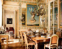 Tour the Top Floor of Pierre Bergé's Paris Apartment | Architectural Digest