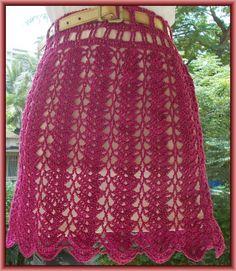 Free Crochet Pattern - Sweet Nothings Crochet: BEAUTIFULLY SIMPLE SHELLED SKIRT