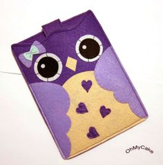 Handmade Felt Kindle Case  Kindle 3 Cover  Kindle Fire by ohmycake, $35.00