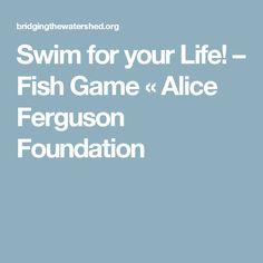 Swim for your Life! – Fish Game « Alice Ferguson Foundation