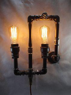 Lampara Edison Industrial De Pared - $ 1.600,00 en MercadoLibre