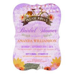 This DealsWhimsical Hipster Bicycle Bridal Shower Invitationso please read the important details before your purchasing anyway here is the best buy