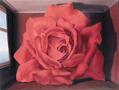 René Magritte - La rosa reclusa 1955 Belgium