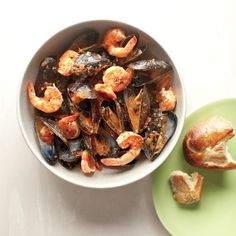 This shrimp and mussels boil is taken to the next level with the addition of sofrito, a flavorful Spanish sauce.