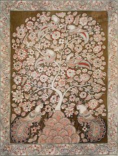 Indian Painting Styles...Kalamkari Paintings (Andhra Pradesh)-tree-of-life1-5-.jpg