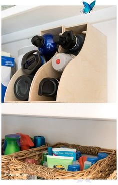 Organizing the Kitchen Counter #homeideas Organizing the Kitchen Counter Save valuable kitchen space by organizing the kitchen counter. A few items is all you need to create a useful and decorative space. Click here to see how!<br> Save valuable kitchen space by organizing the kitchen counter A few items is all you need to create a useful and decorat Kitchen Cabinet Organization, Closet Organization, Kitchen Storage, Kitchen Decor, Kitchen Cabinets, Organization Ideas, Kitchen Ideas, Kitchen Tips, Smart Kitchen