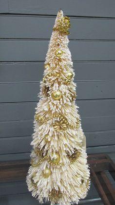 "Christmas Tree ""Bottle Brush"" type by ChiChiBazaar on Etsy"