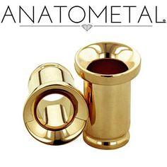 7/16 - machined Eyelets in implant grade Steel, Titanium, or 18k Gold.