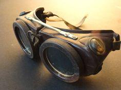 Vintage Welding Goggles Steam Punk Goggles 1940'S | eBay