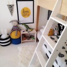 Pineapple Blanket Cream/Black « Spearmint Baby