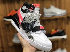 competitive price d3a45 23bac 2019 New Air Jordan Legacy 312 Hot Lava AQ4160-108 To Buy Jordans Sneakers,