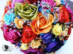 Rainbow Wedding Inspiration From Facebook