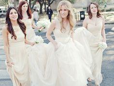 Vestidos damas boda nude