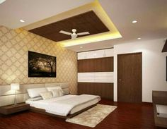 False ceiling design for front bedroom Fall Ceiling Designs Bedroom, Bedroom Pop Design, Interior Ceiling Design, House Ceiling Design, Ceiling Design Living Room, Bedroom Cupboard Designs, Bedroom False Ceiling Design, Bedroom Furniture Design, Bedroom Ceiling