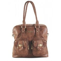 Rachel - Caramel www.harlowjane.com #diaperbag #babylove